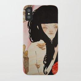 Amanita - Mushroom Death iPhone Case