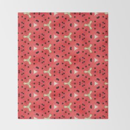 Gabriella Watermelon Slime Design Throw Blanket