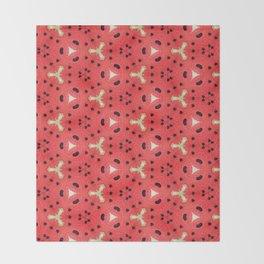 Gabriella Watermelon Slime Design Throw Blanket