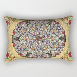 Mandala Elephants Rectangular Pillow