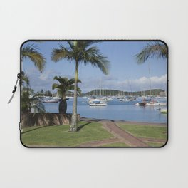 Boats in the Bay Laptop Sleeve