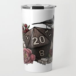 Druid Class D20 - Tabletop Gaming Dice Travel Mug