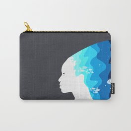 Marina in the Sky Carry-All Pouch