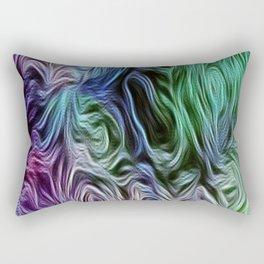 Turquoise Of Pastel Rectangular Pillow