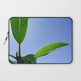 Blue Winter Sky Laptop Sleeve