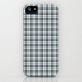 Midnight Gemstone 600 Twill Plaid iPhone Case