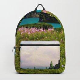 Beautiful Flower Bed On Islands Ultra HD Backpack