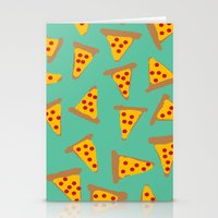 pizza Stationery Cards featuring pizza by AshlynDrake