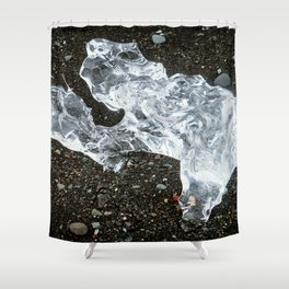 Ice Diamond Shower Curtain