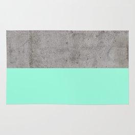 Sea on Concrete Rug