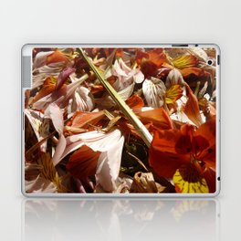 Flowers on a table  Laptop & iPad Skin