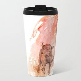 Bullfighter Travel Mug