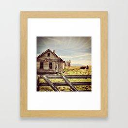 Remembering Mt. Shasta Framed Art Print