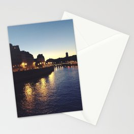 Bridges of Paris by Night Stationery Cards