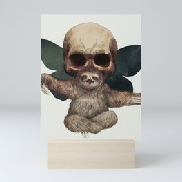 Sloths, Goths, and Moths Mini Art Print
