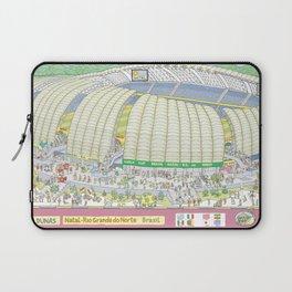 Dunas Arena, Natal, Rio Grande do Norte, Brazil Laptop Sleeve