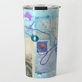 a day by the sea Travel Mug