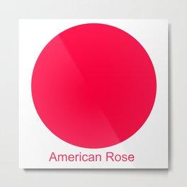 American Rose Metal Print