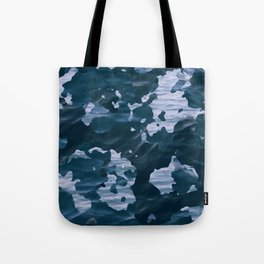 Surfing Camouflage #6 Tote Bag