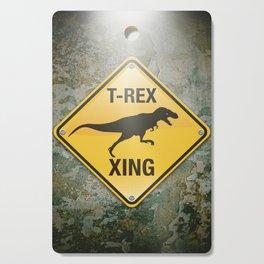 T-Rex Crossing Cutting Board
