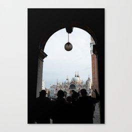 Piazza San Marco, Venezia Canvas Print