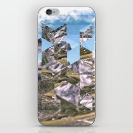 Mountain Fragments iPhone Skin