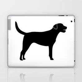 Black Labrador Retriever Silhouette #society6 #decor #buyart #artprint Laptop & iPad Skin