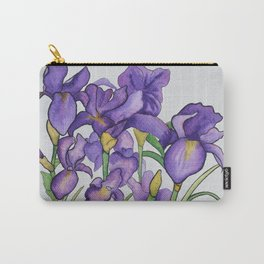 Pretty Purple Petals Carry-All Pouch