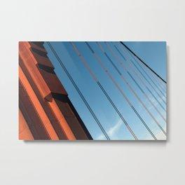 Diagonally Yours.  Metal Print