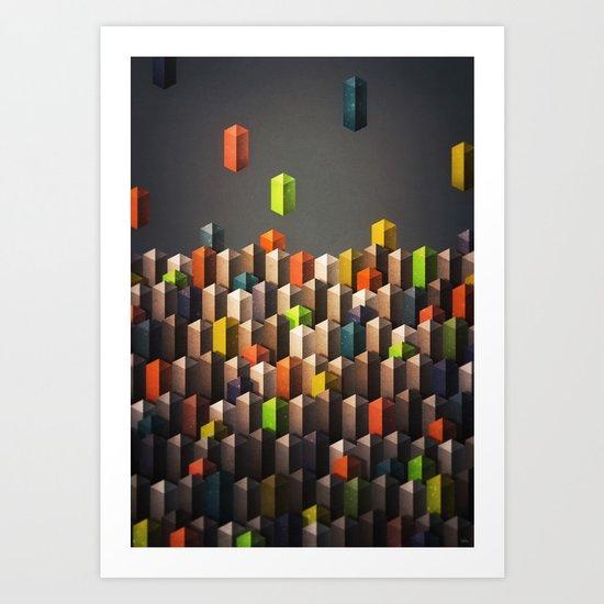 rise above Art Print