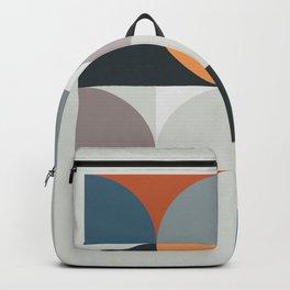 Mid Century Geometric 11 Backpack