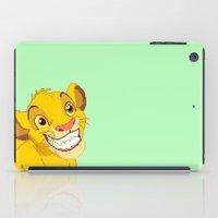 simba iPad Cases featuring Simba Pixel Art by Luxatr