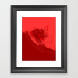 SURFING THE RED SEA Framed Art Print