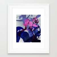 sagittarius Framed Art Prints featuring SAGITTARIUS by Chandelina
