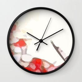 Crackle #7 Wall Clock