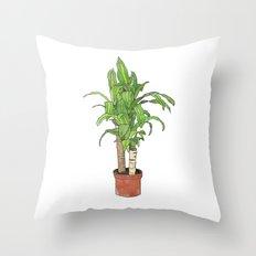 Mass Cane Throw Pillow