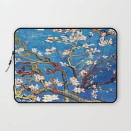 Van Gogh Branches of an Almond Tree in Blossom Laptop Sleeve
