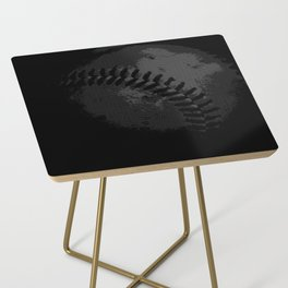 Baseball Illusion Side Table