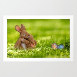 Easter Bonny | Lapin de Pâques Art Print