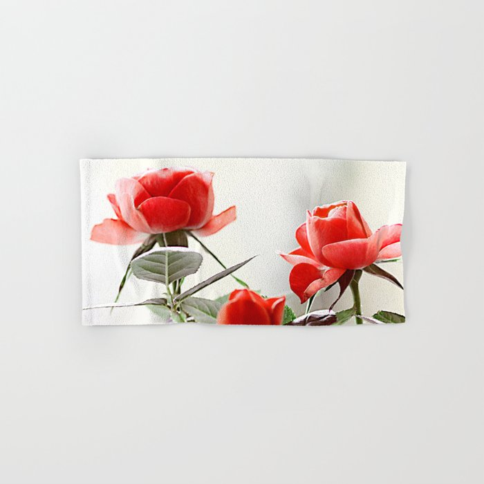 Romantic roses(8). Hand & Bath Towel