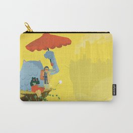 Matilda and Bouru - Melancholy Carry-All Pouch