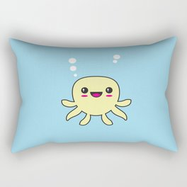 Kawaii Octopus Rectangular Pillow