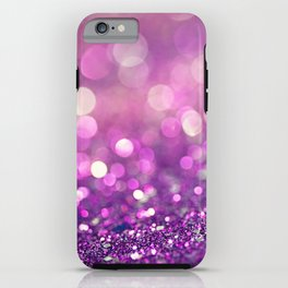 Pretty Purples  - an abstract photograph iPhone Case
