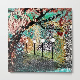 A Night in the Park Metal Print