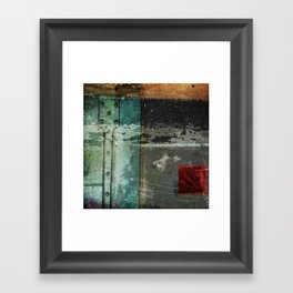 Everything is not okay Framed Art Print