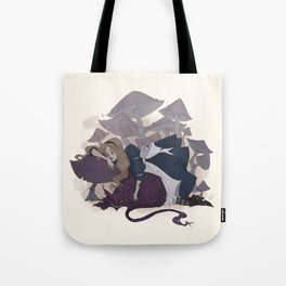 Sleeping Alice Tote Bag