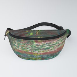 """Claude Monet """"Water Lily Pond"""" Fanny Pack"""