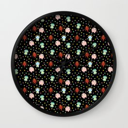 MONSTER POLKA Wall Clock