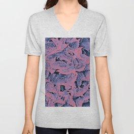 coleus, fever colors Unisex V-Neck