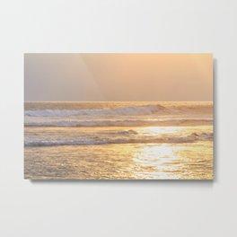 Golden California Metal Print